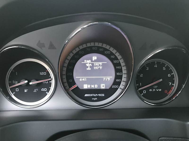 2011 Mercedes-Benz C-Class C 63 AMG 4dr Sedan - Round Rock TX