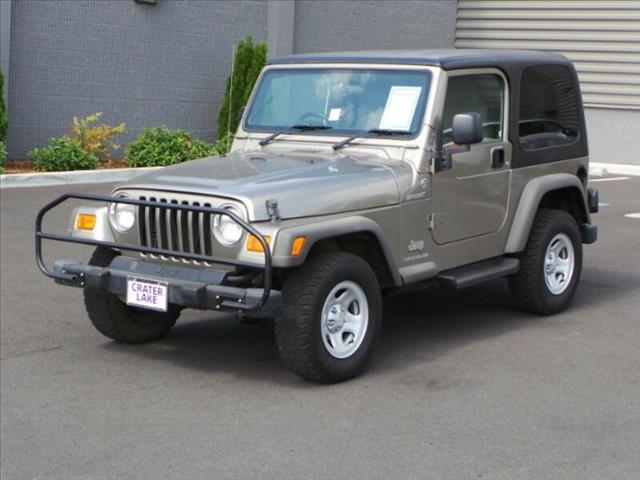 2006 Jeep Wrangler for sale in MEDFORD OR