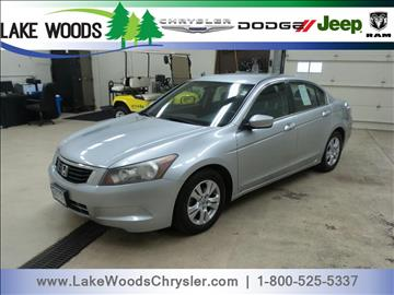 2009 Honda Accord for sale in Grand Rapids, MN