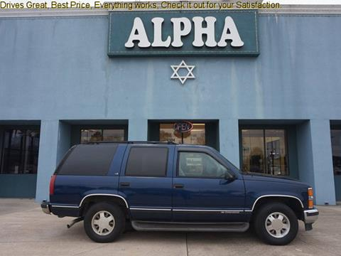 1999 Chevrolet Tahoe For Sale Carsforsale Com