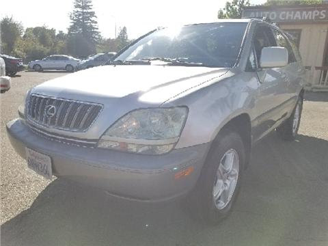 2001 Lexus RX 300 for sale in Santa Rosa, CA