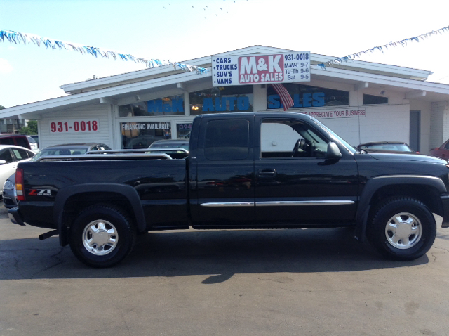 2003 gmc sierra 1500 sle 4dr extended cab 4wd sb in granite city il m k auto sales. Black Bedroom Furniture Sets. Home Design Ideas