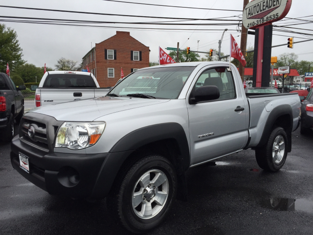 2009 toyota tacoma 4x4 2dr regular cab 6 1 ft sb 5m in baltimore md autoleader. Black Bedroom Furniture Sets. Home Design Ideas