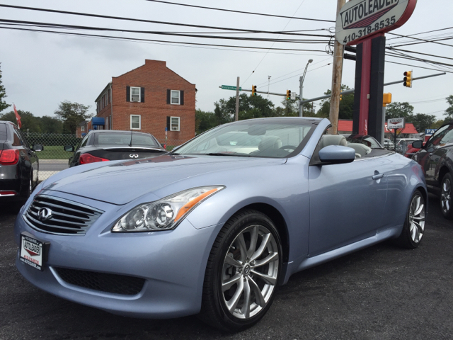 2010 infiniti g37 convertible anniversary edition 2dr convertible in baltimore md autoleader. Black Bedroom Furniture Sets. Home Design Ideas