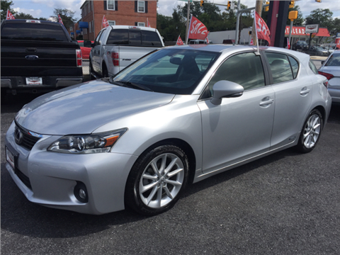2013 Lexus CT 200h for sale in Baltimore, MD
