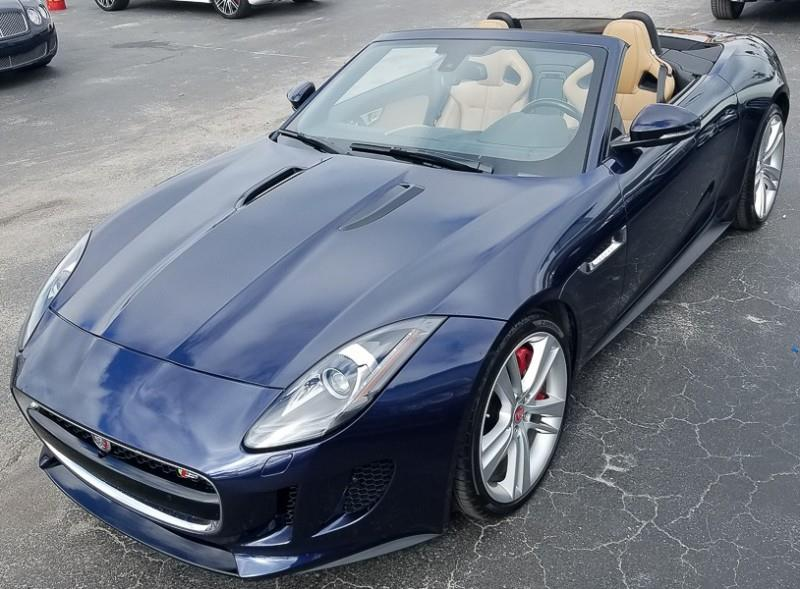 Jaguar FType V S Dr Convertible In Naples FL Imports - 2015 jaguar f type v8 s