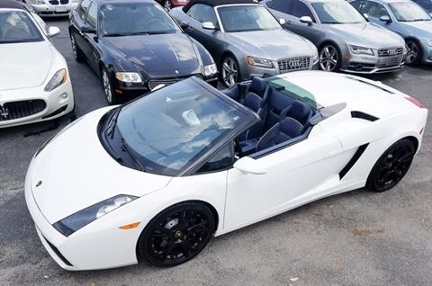 2008 Lamborghini Gallardo for sale in Naples, FL