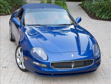 2002 Maserati Spyder for sale in Naples, FL