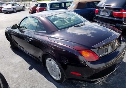2003 Lexus SC 430 for sale in Naples, FL