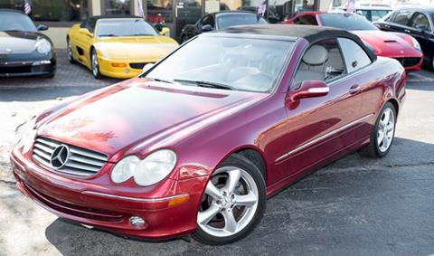 2005 Mercedes-Benz CLK for sale in Naples, FL