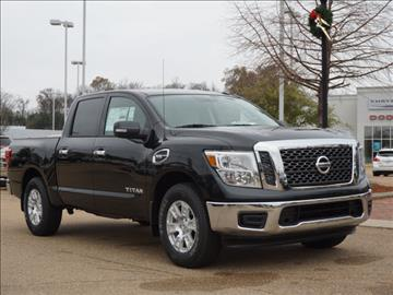 2017 Nissan Titan for sale in Vicksburg, MS
