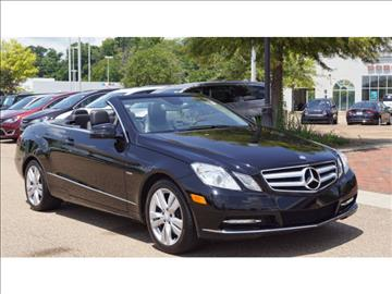 2012 Mercedes-Benz E-Class for sale in Vicksburg, MS