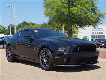 2012 Ford Shelby GT500 for sale in Vicksburg, MS