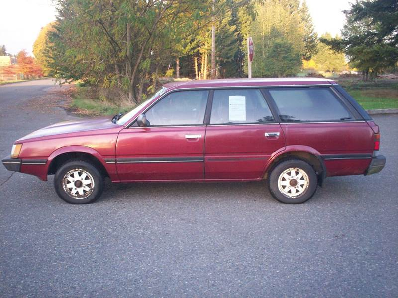 1986 subaru gl 4dr 4wd wagon in olympia wa harpers auto sales. Black Bedroom Furniture Sets. Home Design Ideas