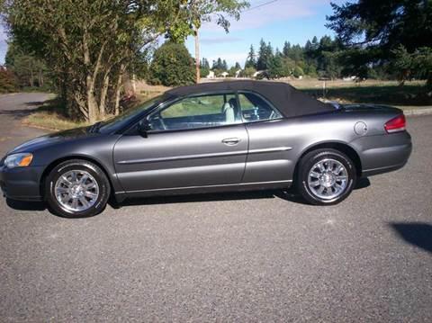 2004 Chrysler Sebring for sale in Olympia, WA