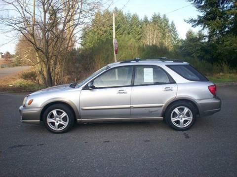 2002 Subaru Impreza for sale in Olympia, WA