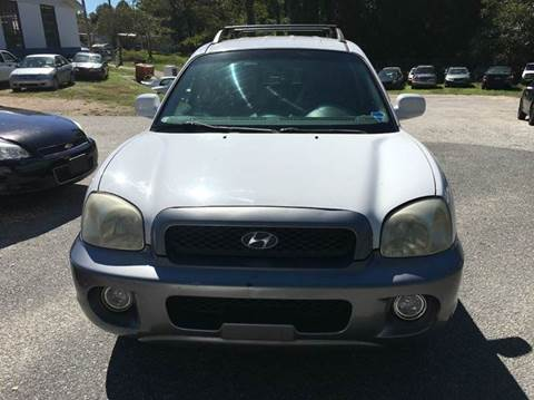 2003 Hyundai Santa Fe for sale in Alexander City, AL