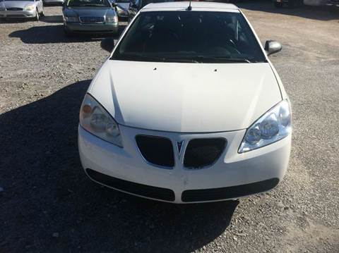 2008 Pontiac G6 for sale in Alexander City, AL