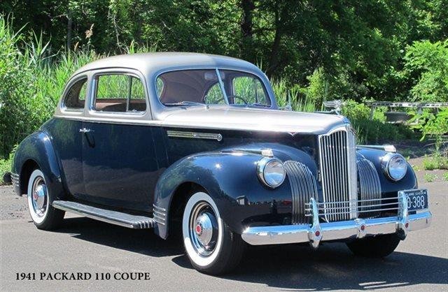 1941 Packard 110 Club Coupe for sale in Lansdale PA