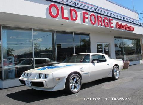 1981 Pontiac Firebird for sale in Lansdale, PA
