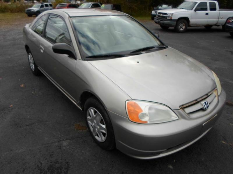 2003 honda civic lx 2dr coupe in central square ny route 11 motor sports. Black Bedroom Furniture Sets. Home Design Ideas