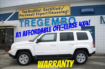 2013 Jeep Patriot for sale in Bentleyville, PA