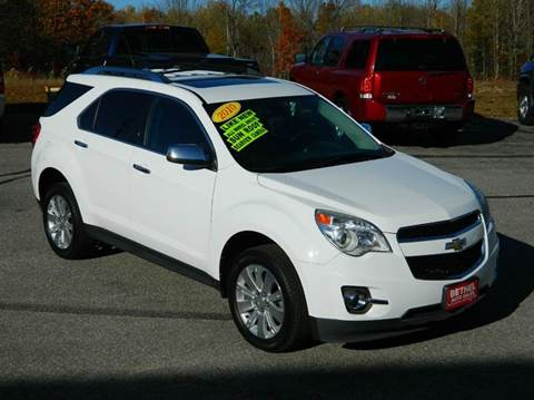 2010 Chevrolet Equinox For Sale Maine