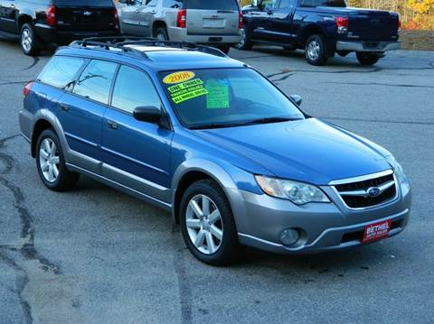 2008 Subaru Outback for sale in Bethel, ME