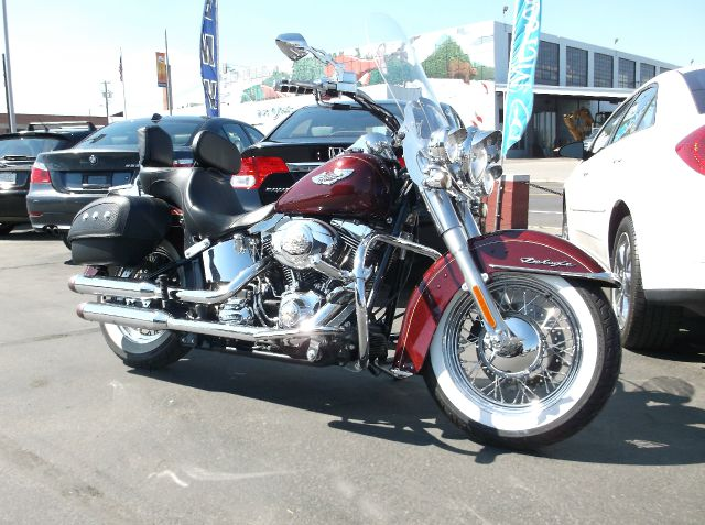 2008 HARLEY-DAVIDSON SOFTTAIL SOFTTAIL DELUXE maroon tons of candy on this super sweet 08 softtai