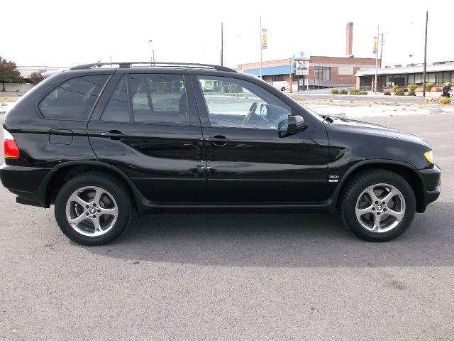 2003 BMW X5 30I black black with black leather interior  very sharp 120526 miles VIN 5UXFA5