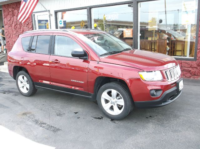 2012 JEEP COMPASS SPORT 4X4 4DR SUV maroon you wont want to miss this low mile compass with the h