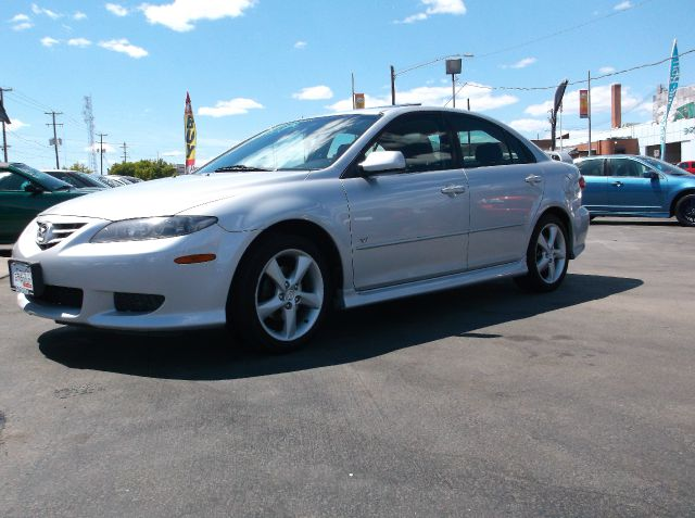 2005 MAZDA MAZDA6 S SPORT 4DR HATCHBACK silver very sporty car in excellent condition  this car w
