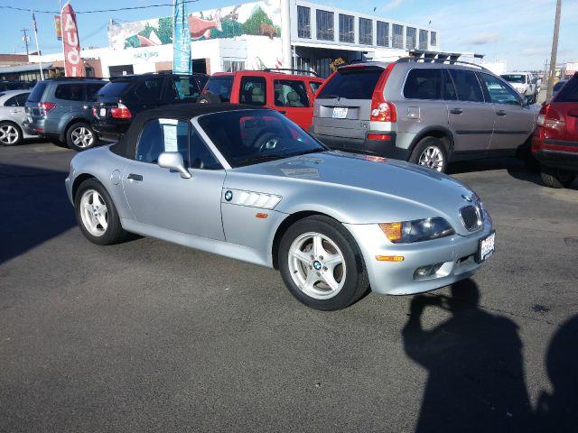 1998 BMW Z3 19 2DR CONVERTIBLE silver abs - 4-wheel cassette center console cruise control dr