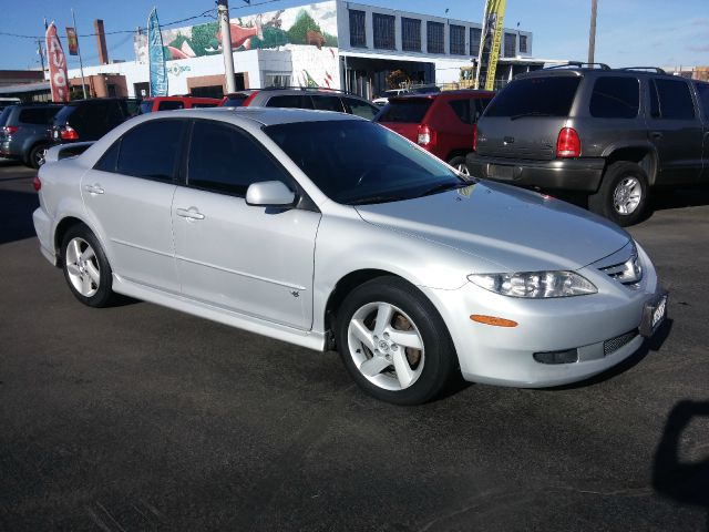 2003 MAZDA MAZDA6 S 4DR SEDAN silver great running car  yes it has a check engine light on  mec