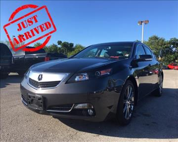 2013 Acura TL for sale in Hollywood, FL