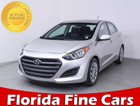 2017 Hyundai Elantra GT for sale in Hollywood, FL
