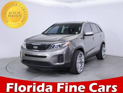 2015 Kia Sorento for sale in Hollywood, FL