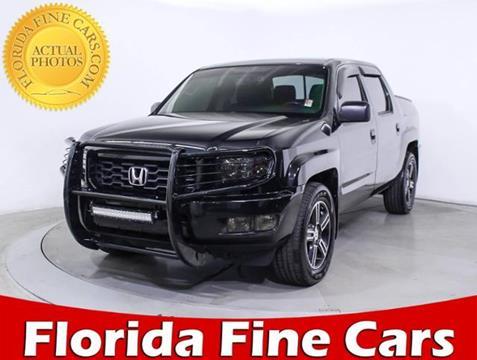 2014 Honda Ridgeline for sale in Miami, FL