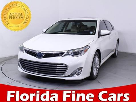 2015 Toyota Avalon Hybrid for sale in Hollywood, FL