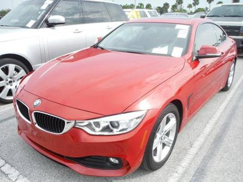 2014 BMW 4 Series for sale in Hollywood, FL
