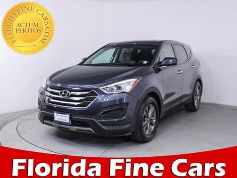 2016 Hyundai Santa Fe Sport for sale in Hollywood, FL