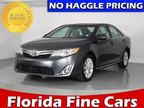 2014 Toyota Camry for sale in Miami, FL