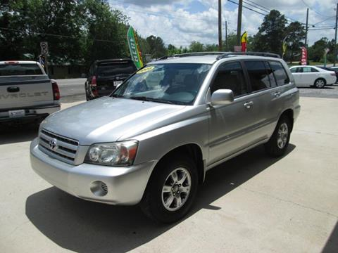 2005 Toyota Highlander for sale in Odenville, AL