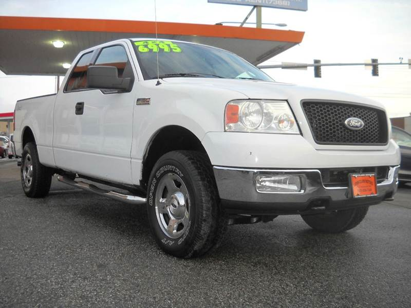 2004 Ford F-150 4dr SuperCab XLT 4WD Styleside 6.5 ft. SB ...