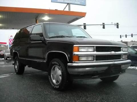 1997 Chevrolet Tahoe For Sale Carsforsale Com