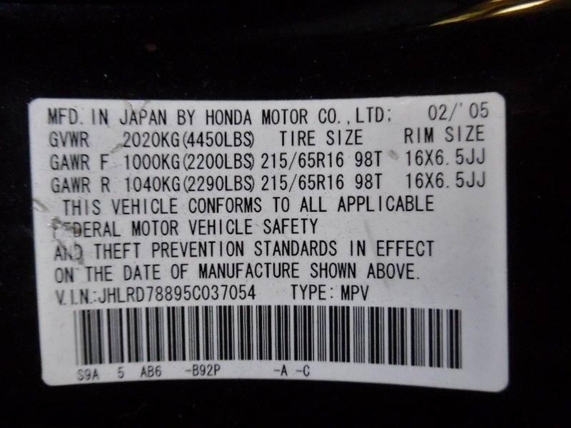 2005 Honda CR-V EX AWD - Ashland MO