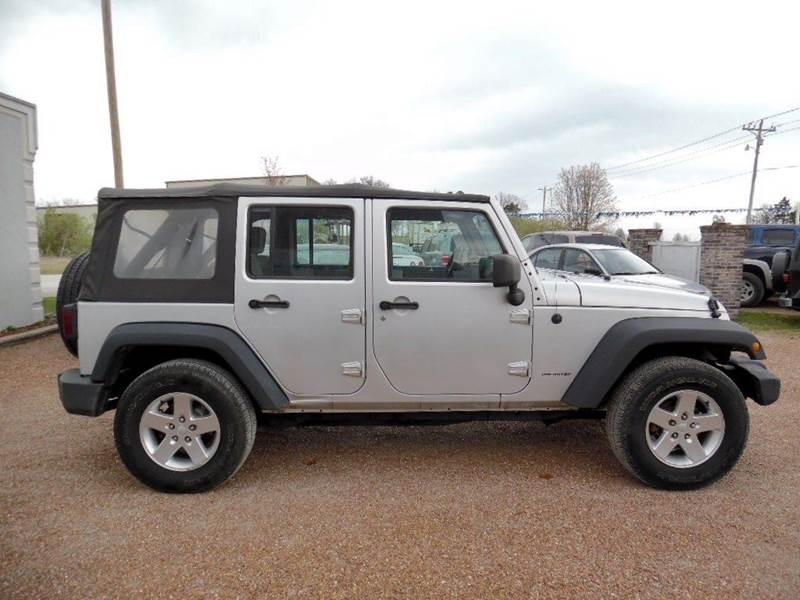 2007 Jeep Wrangler Unlimited 4x4 X 4dr SUV - Ashland MO