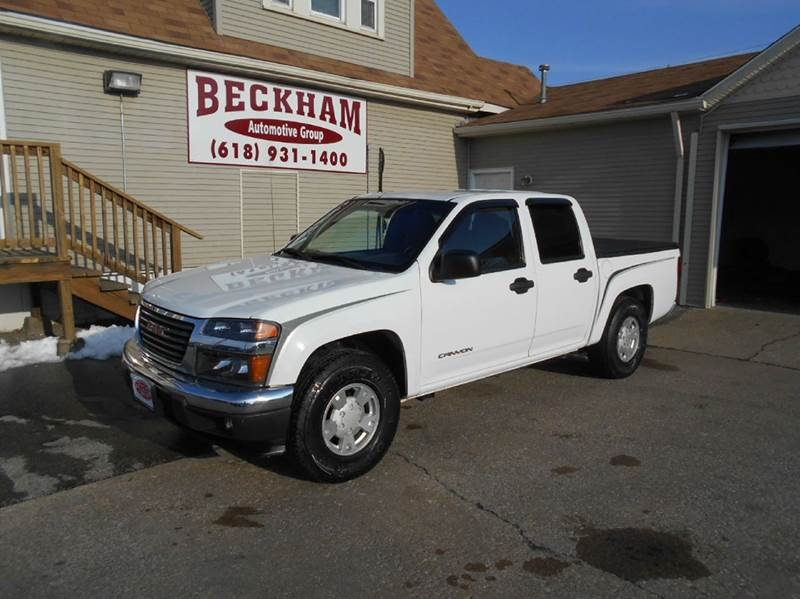 2004 gmc canyon 4dr crew cab z85 sle rwd sb in granite city il beckham automotive group. Black Bedroom Furniture Sets. Home Design Ideas