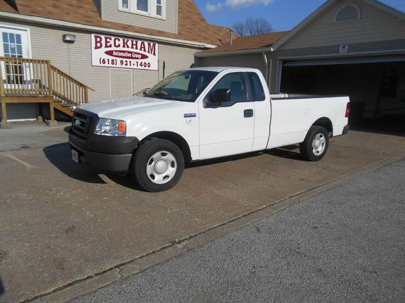 2008 ford f 150 xl 4x2 xl 2dr regular cab styleside 8 ft lb in granite city il beckham. Black Bedroom Furniture Sets. Home Design Ideas
