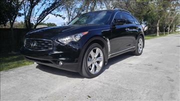 2009 Infiniti FX50 for sale in Hollywood, FL